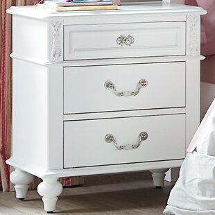 Brooklyn 3 Drawer Nightstand by Viv + Rae