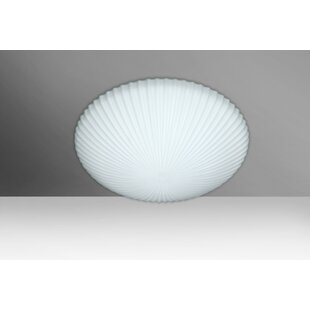 Besa Lighting Katie 2-Light LED Outdoor Flush Mount