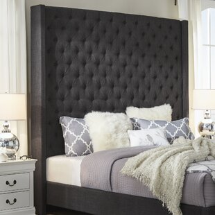 Borchers Upholstered Wingback Headboard