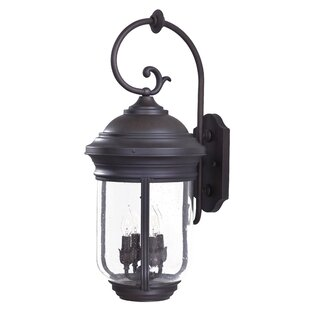 Amherst 4-Light Outdoor Wall Lantern by G..