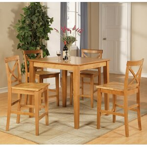 Mathys 5 Piece Counter Height Pub Table Set