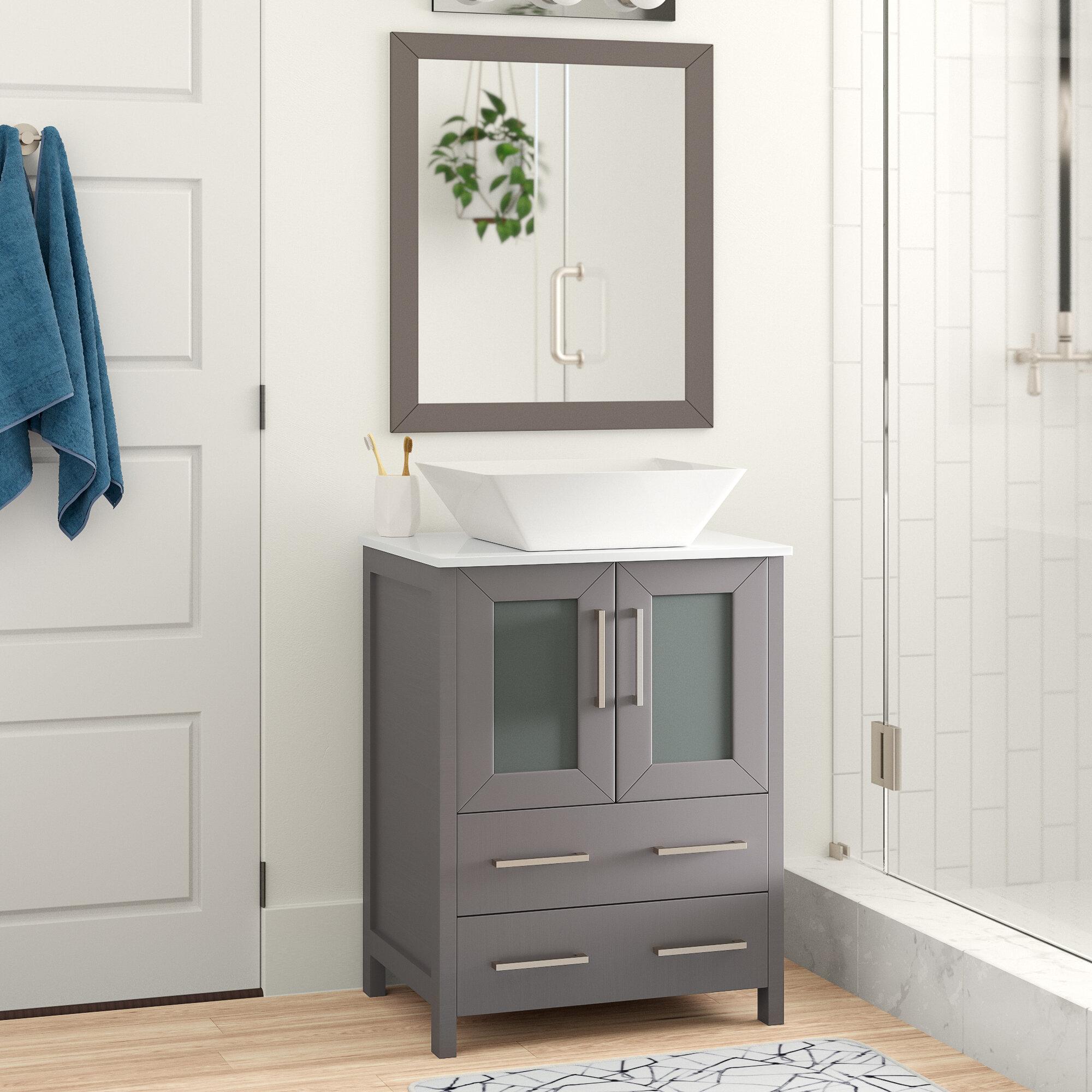 Knutsen 24 Single Bathroom Vanity Set