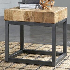 Rheba Chair Side End Table by Bloomsbury Mar..