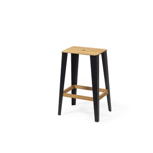 Albro 60cm Bar Stool By Union Rustic