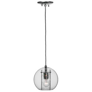 Bola 1-Light Pendant by Meyda Tiffany