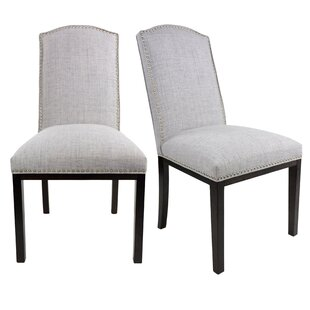 Harpole Upholstered Wood Dining Chair (Se..