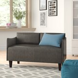 Keanu 52 Square Arms Loveseat by Zipcode Design™