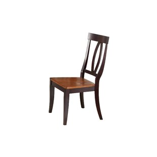 Mcdonell Solid Wood Dining Chair (Set of 2)