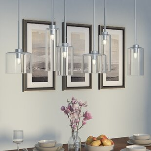 Wade Logan Siddharth 6-Light Kitchen Island Pendant