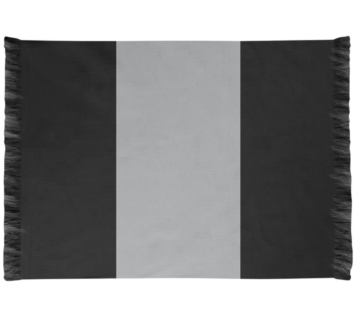East Urban Home Nhs National Hockey Stripes Black Area Rug Wayfair