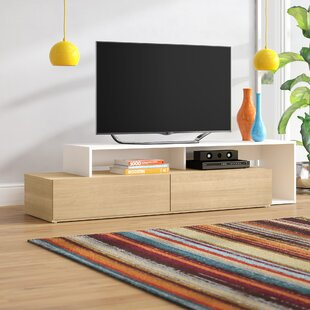 Price comparison Lovitz TV Stand for TVs up to 80 by Wrought Studio Reviews (2019) & Buyer's Guide