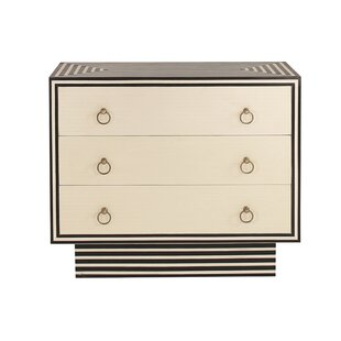 3 Drawer Dresser by Worlds Away