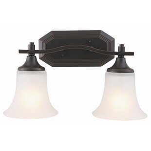 Check Prices Juneau 2-Light Vanity Light By Design House