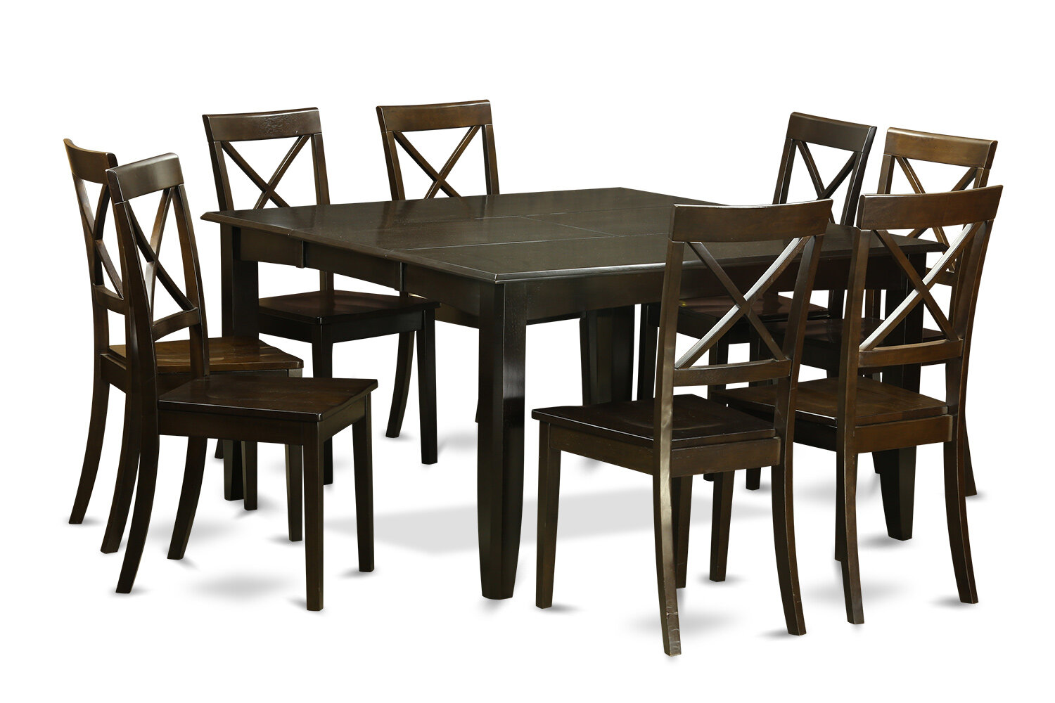 August Grove Pilning Butterfly Leaf Rubberwood Solid Wood Dining Set Reviews Wayfair