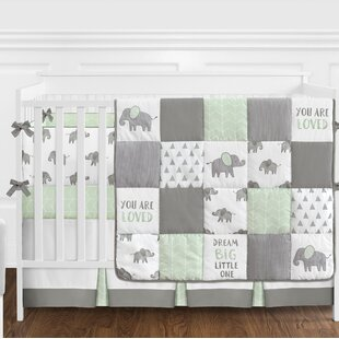 Find Elephant 9 Piece Crib Bedding Set By Sweet Jojo Designs