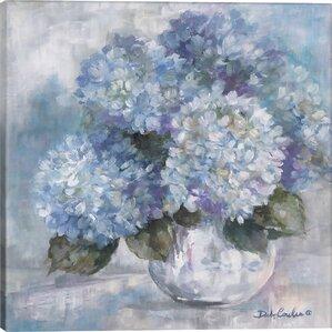 Hydrangea Blues Canvas Print