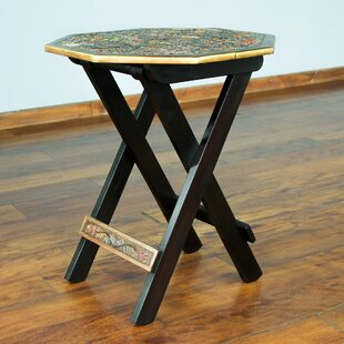 Folding End Table