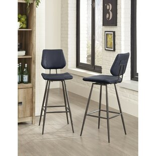 Oldenburg Metal Bar Stool by Williston Forge