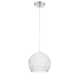 Breit 1-Light Pendant by Ivy Bronx