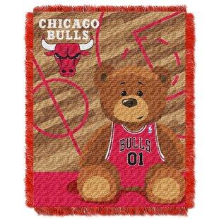 Compare prices NBA Bulls Half Court Baby Throw ByNorthwest Co.