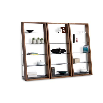 Bdi Eileen Blanc Ladder Bookcase Bookcases Standing Shelves
