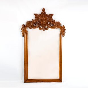 The Silver Teak Classic French Style Accent Mirror