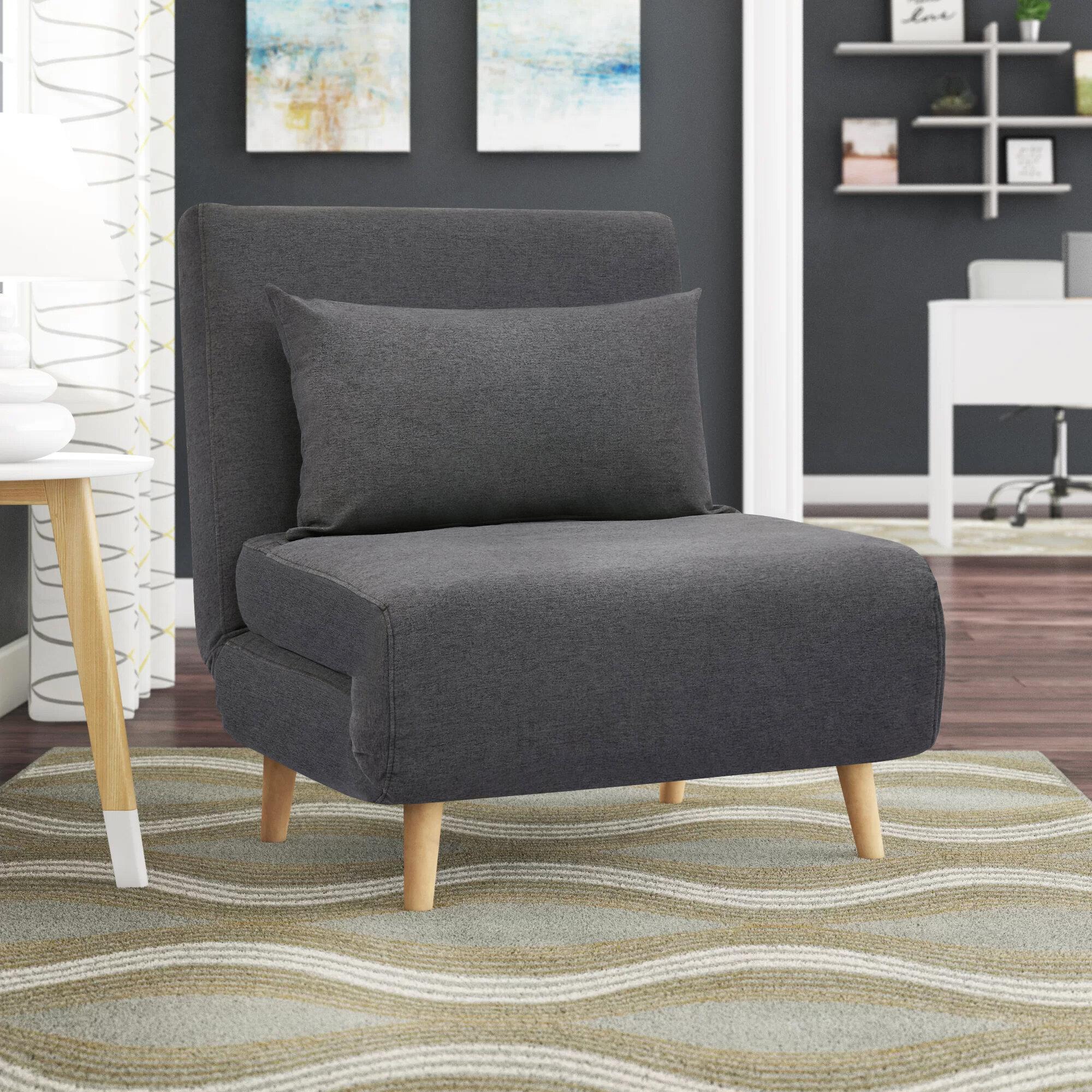 Corrigan Studio Bolen Convertible Chair Reviews Wayfair Ca