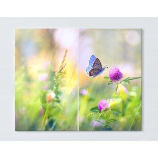 Butterfly 80cm Magnetic Wall Mounted Cork Board By Ebern Designs
