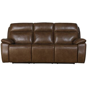 Jimmy Leather Reclining Sofa