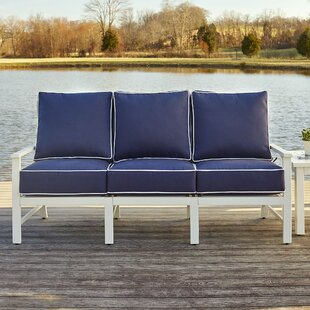 Jacoby 4 Piece Sunbrella Sofa Set with Cushions