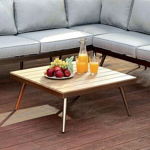 Cotton Aluminum Coffee Table