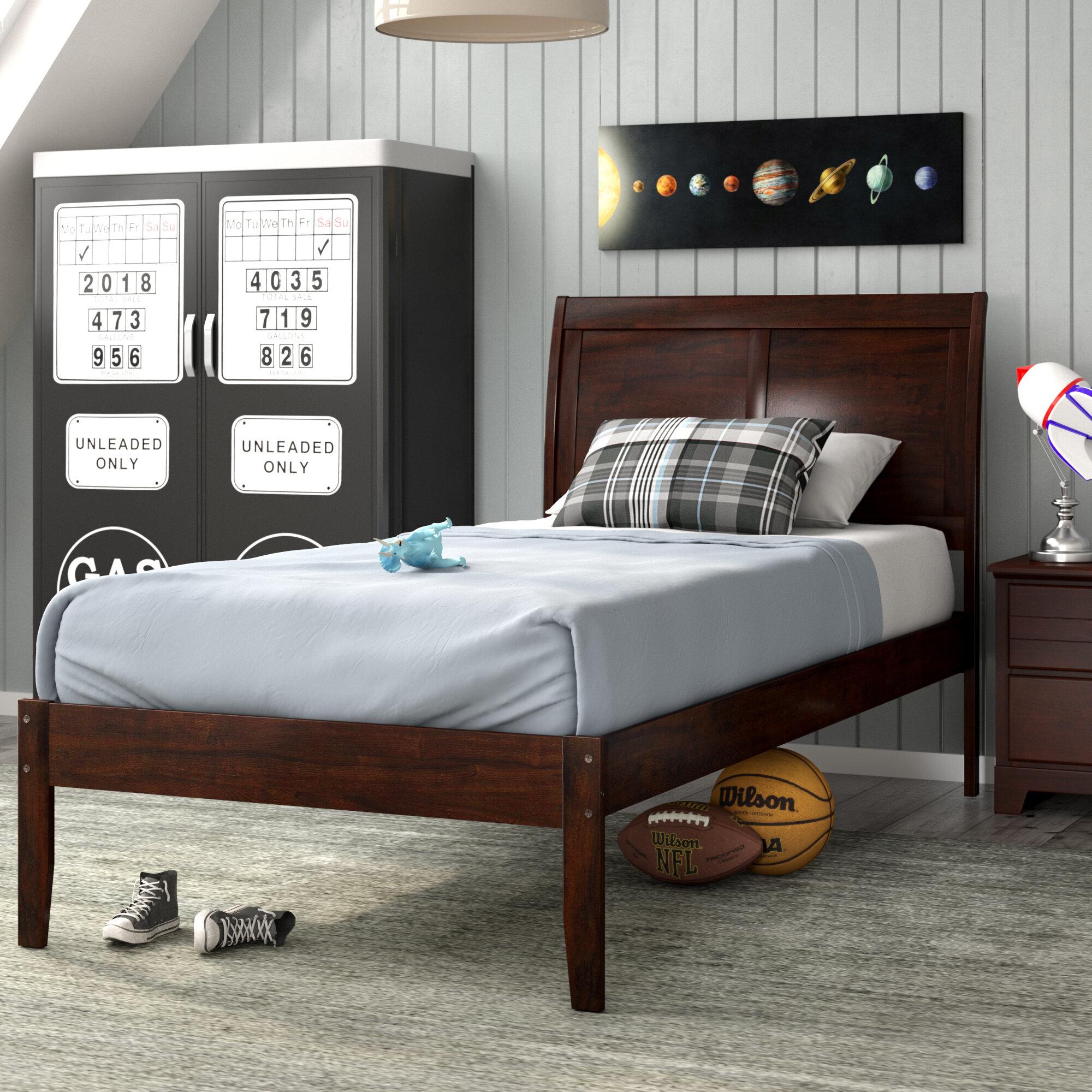 - Harriet Bee Quitaque Extra Long Twin Sleigh Bed & Reviews Wayfair