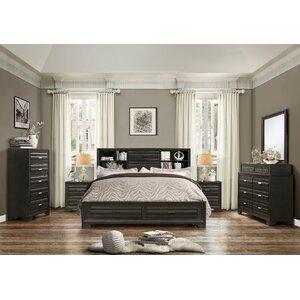 raven bedroom set. Loiret Wood 6 Piece Bedroom Set Grey Sets You ll Love  Wayfair