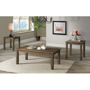 Cork 3 Piece Coffee Table Set