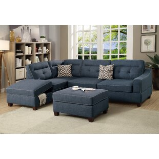 Dahlquist Reversible Sectional with Ottoman