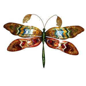 Dragonfly Wall Decor metal dragonfly decor | wayfair