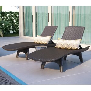 clarita chaise lounge set of 2