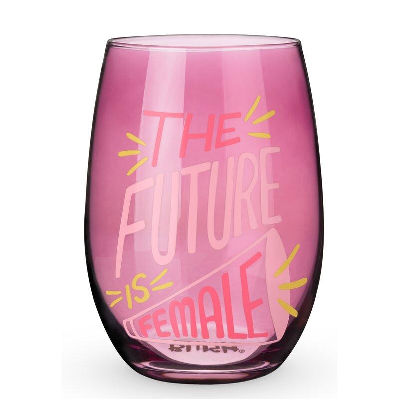 Plant Lady Stemless Wine Glass