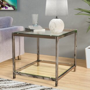 Wade Logan Combs End Table