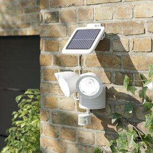 Solar 2 Light Shed Outdoor Spotlight With Motion Sensor Image