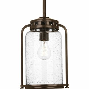 Top Reviews Bay State 1-Light Outdoor Hanging Lantern By Andover Mills