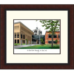 NCAA SCSU Huskies Legacy Alumnus Lithograph Picture Frame By Campus Images