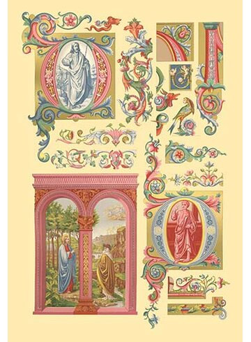 Buyenlarge \'Renaissance Design with Figures\' by Auguste Racinet ...