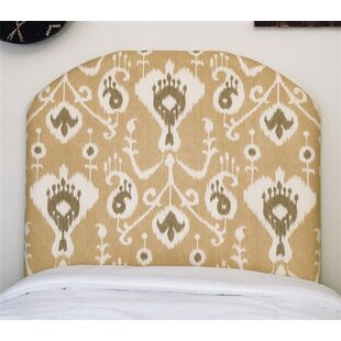 Harriet Bee Heathcote Arched Twin/Twin XL Upholstered Panel Headboard