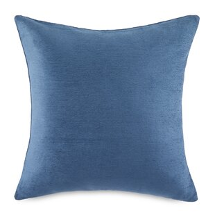 Rickett Solid Cotton Throw Pillow