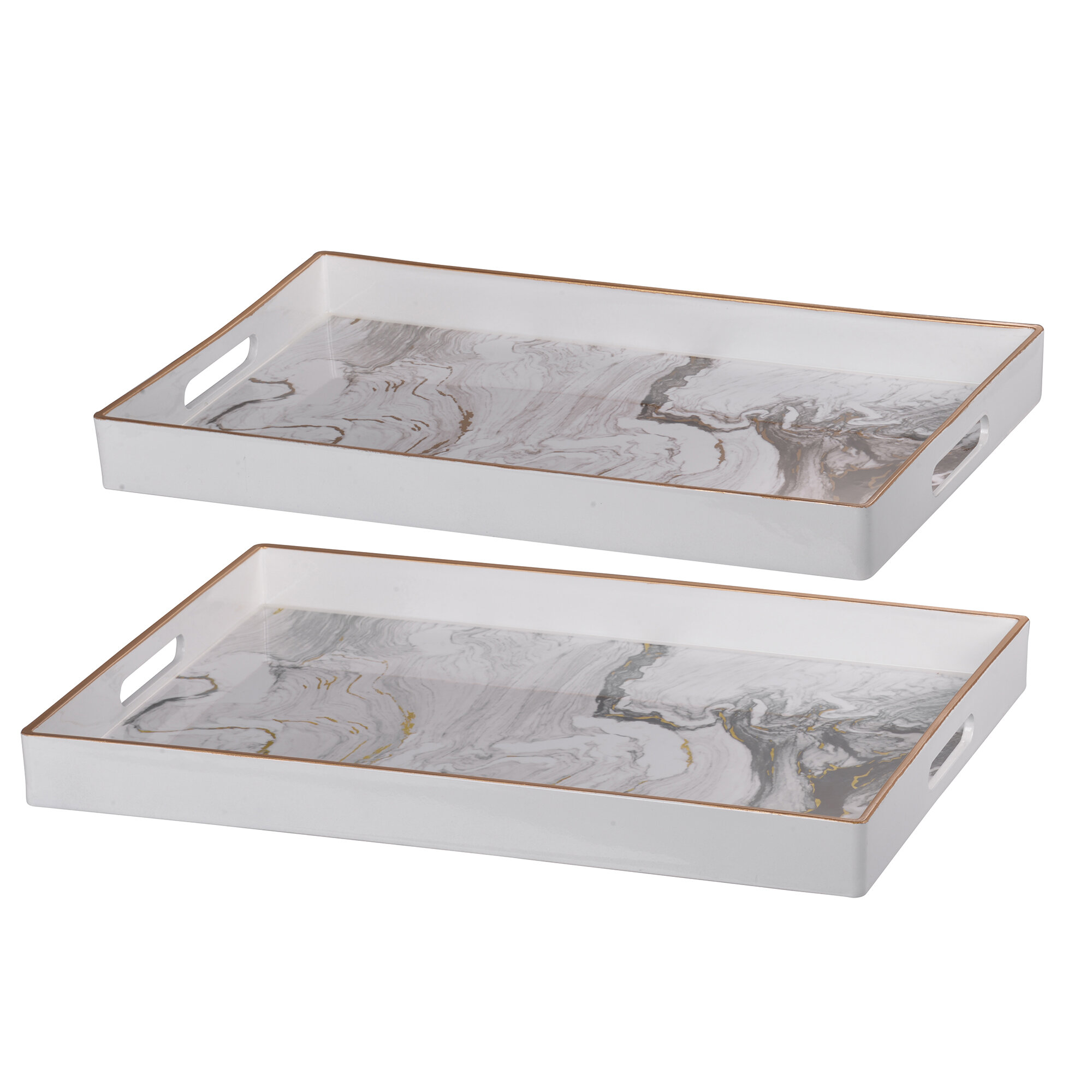 Modern Serving Decorative Trays Allmodern