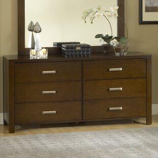 Gareth 6 Drawer Double Dresser