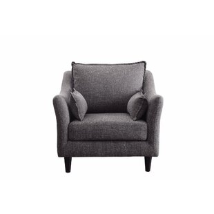 Gracie Oaks Angleterre Upholstered Living Room Armchair