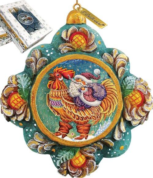 Rooster Ornament Wayfair