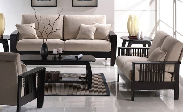 Default nameWildon Home   Mission Style Living Room Collection   Reviews   Wayfair. Mission Living Room Furniture. Home Design Ideas